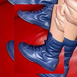 RARE!!! Converse/Chuck Taylor Rain Boots, Navy
